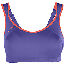 Buy Shock Absorber Active Multi Sports Support Bra, Purple Online at johnlewis.com