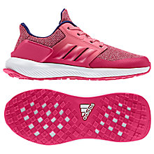 Buy Adidas Junior RapidaRun K Trainers Online at johnlewis.com