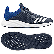 Buy adidas Junior Fortarun K Trainers, Blue Online at johnlewis.com