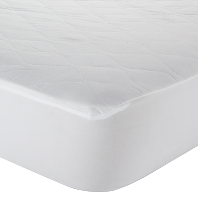 John Lewis Specialist Synthetic Carefree Comfort Teflon Mattress Protector