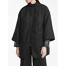 Buy Great Plains St Martins Coat, Onyx Black Online at johnlewis.com