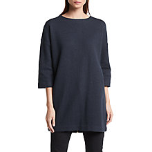 Buy Great Plains Bobby Boiled Wool Dress, Classic Navy Online at johnlewis.com