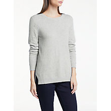 Buy Great Plains Ottilie Jumper, Grey Mist Online at johnlewis.com