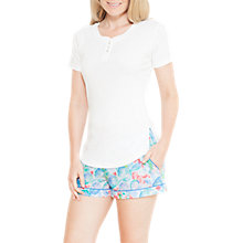 Buy Cyberjammies Celia Short Sleeve Top, Ivory Online at johnlewis.com