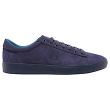 Buy Fred Perry Spencer Microfibre Lace-Up Trainers Online at johnlewis.com