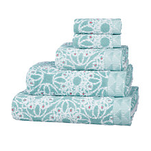 Buy John Lewis Fusion Kasmanda Cotton Towels Online at johnlewis.com