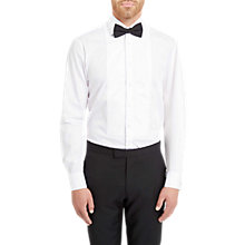 Buy Jaeger Marcella Bib Regular Fit Dress Shirt, White Online at johnlewis.com
