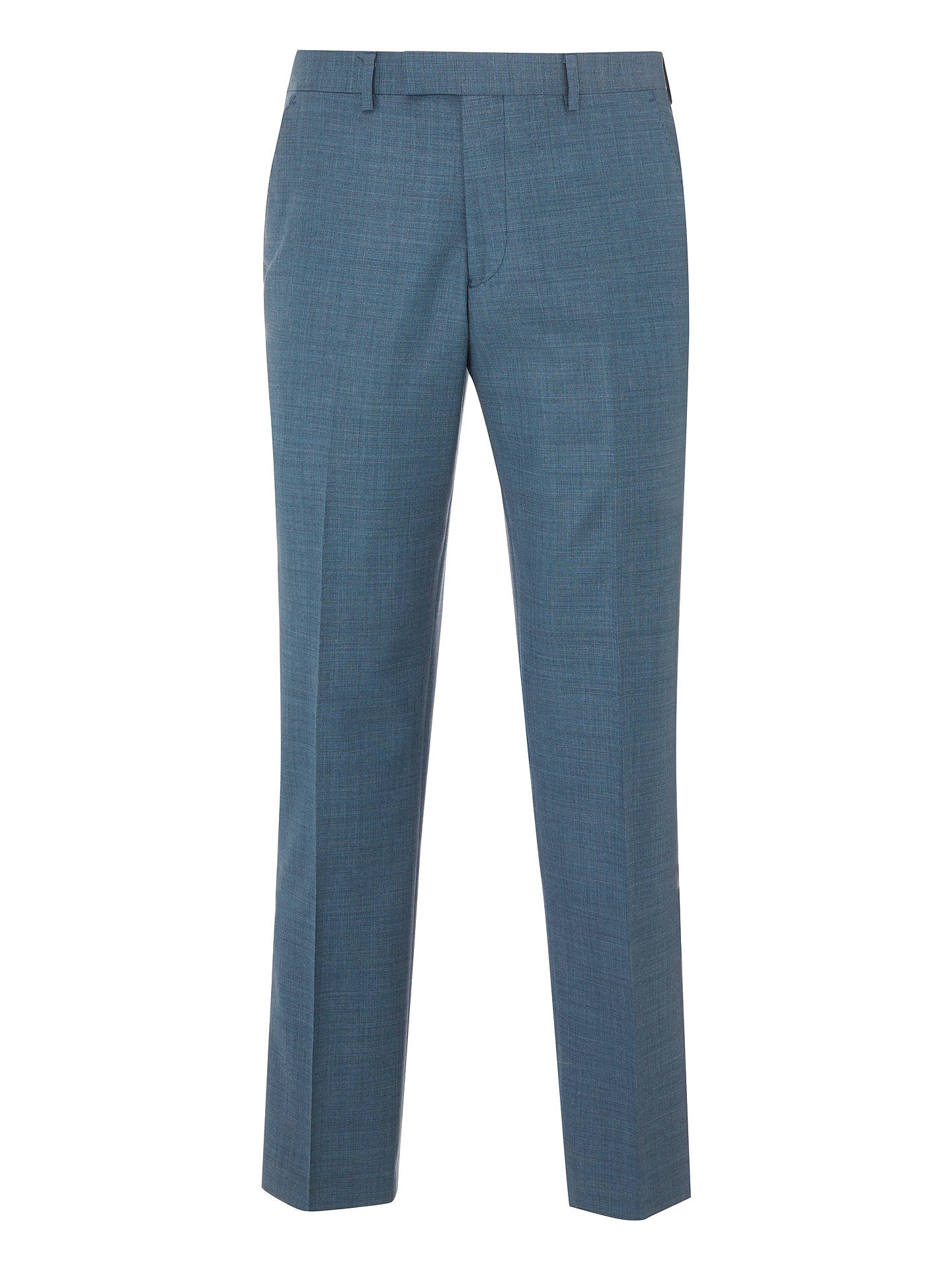 323517456 ... Buy John Lewis & Partners Woven in Italy Super 130s Wool Sharkskin Suit  Trousers, Steel ...