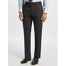 Buy John Lewis Ermenegildo Zegna Super 160s Wool Check Tailored Suit Trousers, Charcoal Online at johnlewis.com