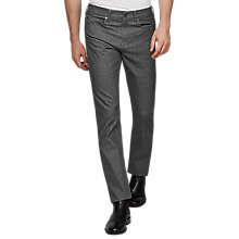 Buy Reiss Professor Slim-Fit Jeans, Grey Online at johnlewis.com