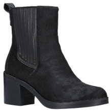 Buy UGG Camden Block Heeled Ankle Chelsea Boots, Black Suede Online at johnlewis.com