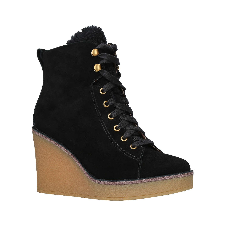 Hermès Suede Wedge Ankle Boots Find Great Sale Online JC6eWGY6