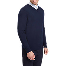 Buy Jaeger V-Neckline Knit Jumper Online at johnlewis.com