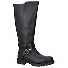 Buy UGG Harington Knee High Boots, Black Leather Online at johnlewis.com