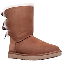 Buy UGG Bailey Bow Sheepskin Short Boots Online at johnlewis.com