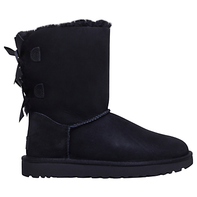UGG Bailey Bow Sheepskin Short Boots
