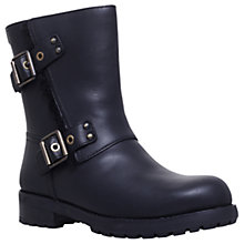 Buy UGG Niels Calf High Boots, Black Leather Online at johnlewis.com