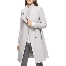 Buy Reiss Harri Belted Wrap Collar Trench Coat Online at johnlewis.com