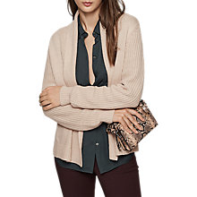 Buy Reiss Michelle Chunky Knit Cardigan Online at johnlewis.com