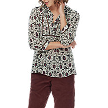 Buy Brora Silk Chiffon Blouse, Auburn Folk Online at johnlewis.com