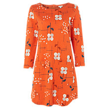 Buy White Stuff About Town Jersey Tunic, Orange/Multi Online at johnlewis.com