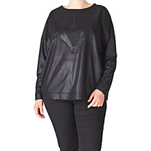Buy ADIA Pullover Long Sleeve Jumper, Black Online at johnlewis.com