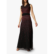 Buy Raishma Scarlet Gown, Black Online at johnlewis.com