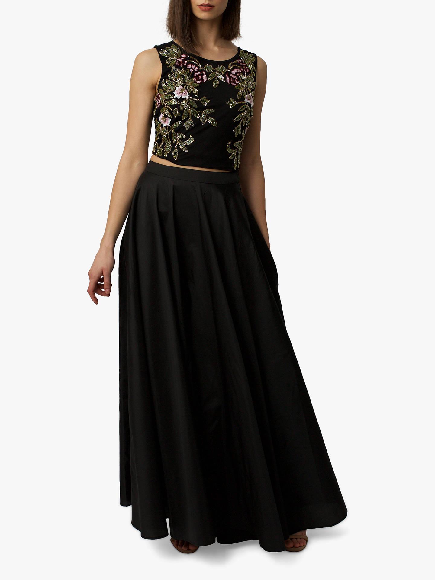 BuyRaishma Taffeta Maxi Skirt d5fff4db9b1