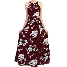 Buy Jolie Moi Floral Print Halter Neck Maxi Dress Online at johnlewis.com