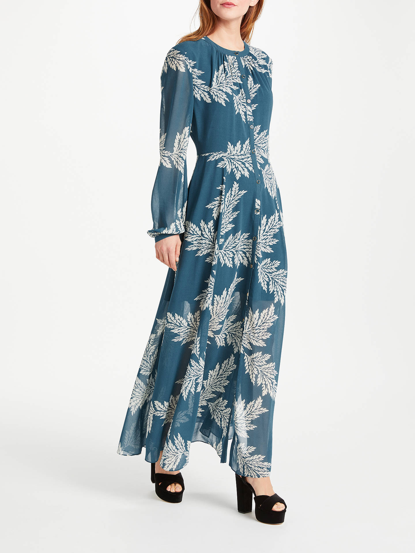 BuySomerset by Alice Temperley Palm Print Maxi Dress 5bf7af057