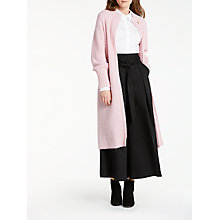 Buy Somerset by Alice Temperley Long Cardigan, Pink Online at johnlewis.com