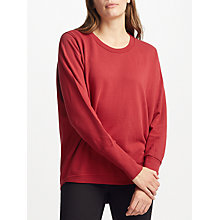 Buy Numph Nikola Sweatshirt, Red Dahlia Online at johnlewis.com