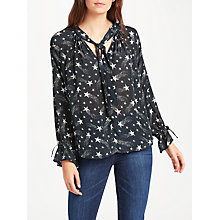 Buy Pyrus Anais Tie Blouse, Shooting Stars Online at johnlewis.com