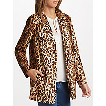 Buy Velvet by Graham & Spencer Celine Coat, Leopard Online at johnlewis.com