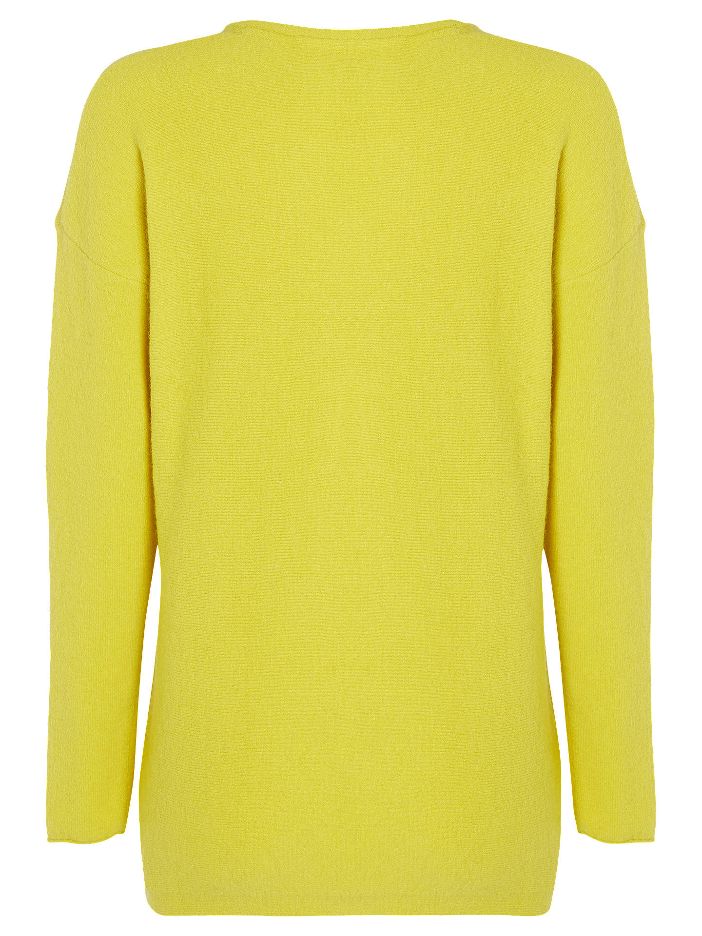 BuyWhite Stuff Hinterland V Neck Jumper, Citrus, 6 Online at johnlewis.com