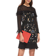Buy Whistles Nancy Embellished Galaxy Dress, Black Online at johnlewis.com