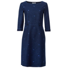 Buy White Stuff Denim Spot Jersey Dress, Blue Online at johnlewis.com