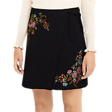 Buy Oasis Rosetti Embroidered Mini Skirt, Multi Online at johnlewis.com