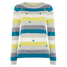 Buy White Stuff Eden Stripe Jumper, Multi Online at johnlewis.com