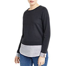 Buy Oasis Shirt Tail Sweater, Multi Online at johnlewis.com