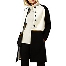 Buy Damsel in a dress Penhurst Coat, Black/Ivory Online at johnlewis.com