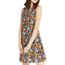 Buy Oasis Printed Cord Mini Dress, Multi Online at johnlewis.com