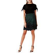 Buy Coast Cece Embroidered Skirt, Forest Online at johnlewis.com
