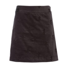 Buy White Stuff Alcove Velvet Mini Skirt, Coal Online at johnlewis.com