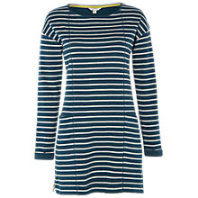 Buy White Stuff Rubie Stripe Tunic Dress, Sea Green Online at johnlewis.com