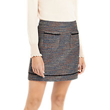 Buy Oasis Boucle Tweed Mini Skirt, Multi Online at johnlewis.com