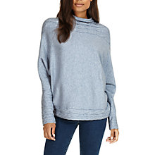 Buy Phase Eight Corine Cable Detail Knitted Jumper, Soft Blue Online at johnlewis.com