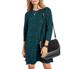 Buy hush Leopard Tansy Dress, Green Leopard Online at johnlewis.com