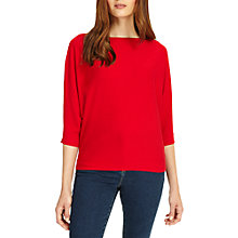 Buy Phase Eight Cristine Batwing Jumper, Red Online at johnlewis.com