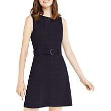 Buy Oasis Shadow Check Shift Dress, Multi Online at johnlewis.com
